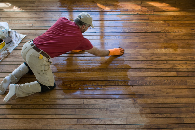 Charleston wood floor refinishing