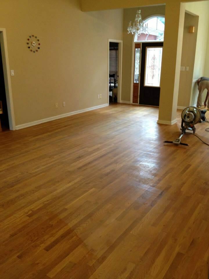 a floor in need of resurfacing in Charleston, SC