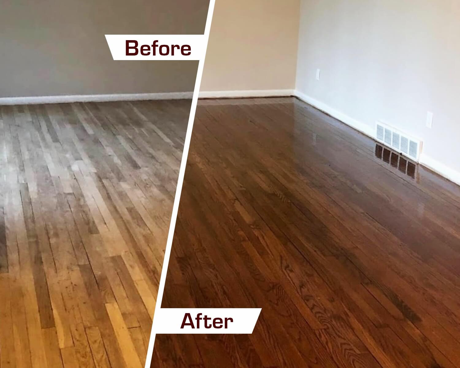 refinish wood flooring in charleston, sc