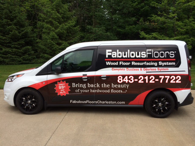 Fabulous Floors Charleston Van