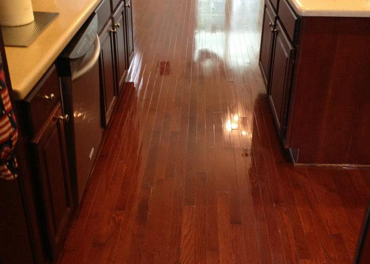 hardwood floor refinished by fabulous floors charleston
