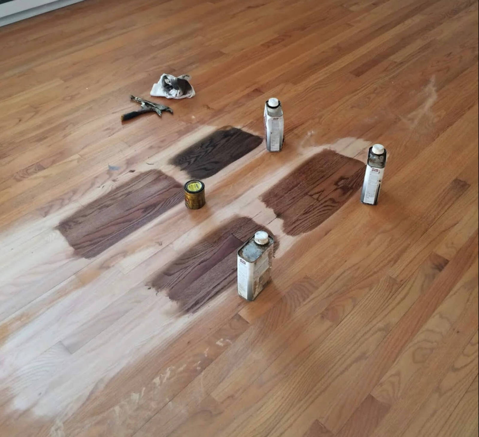 hardwood floor staining in Charleston