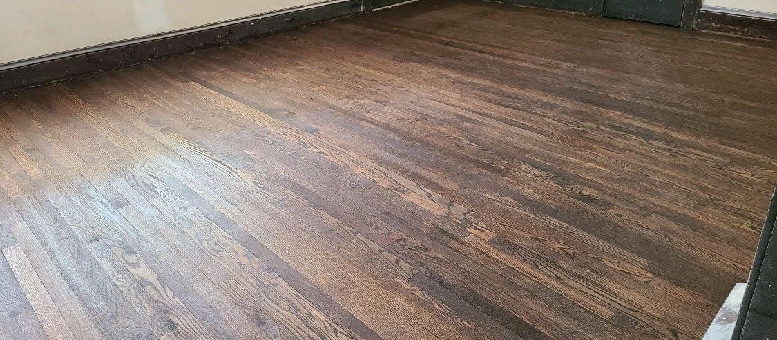 After a Hardwood floor refinishing in Charleston, SC